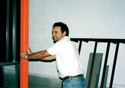 Juan José Moreno construcción 2ª instalación