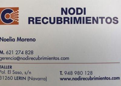 Tarjeta de visita NODI